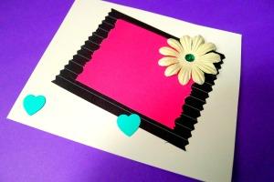 Carte violette