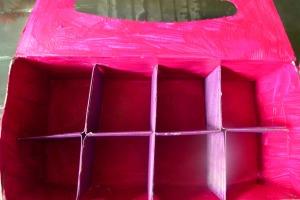 Boîte rose